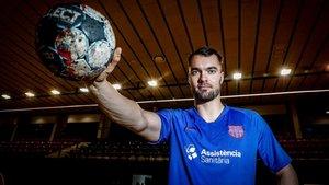 Casper Mortensen dialogó este lunes con SPORT en la Ciutat Esportiva