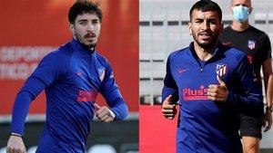 Correa y Sime Vrsaljko, los dos positivos