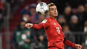 Coutinho, en uno de sus últimos partidos con el Bayern