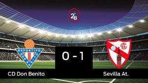 El Don Benito cae derrotado ante el Sevilla At. (0-1)