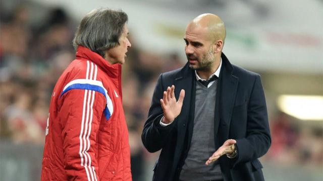 El enfado de Guardiola con el staff médico en el Bayern