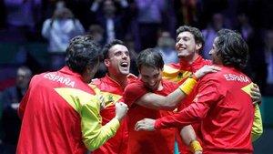 El equipo español consiguió su sexta Copa Davis