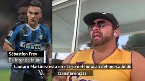 Frey: Si Lautaro quiere ir al Barcelona, ambos clubes encontrarán la solución