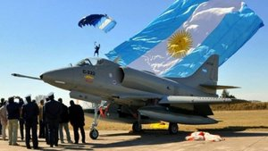La Fuerza Aérea Argentina está siendo utilizada para combatir al Covid-19