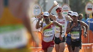 García Bragado, en 2016 en los Juegos Olímpicos de Río
