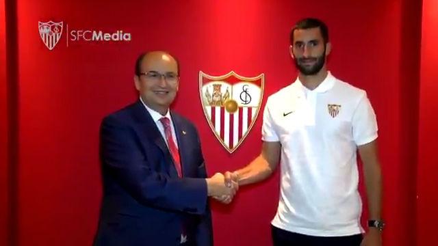 Gonalons, nuevo jugador del Sevilla