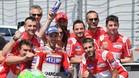 Gran éxito de Dovizioso en Italia
