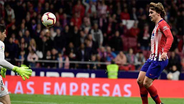 Griezmann sentenció al Girona con una picada perfecta sobre Iraizoz
