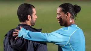Guardiola ha elogiado a Ronaldinho