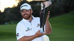 Holmes celebró su quinto título en el PGA Tour