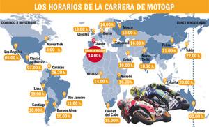 c304474da20 Horarios y televisiones del GP de Valencia 2015 de MotoGP   motociclis