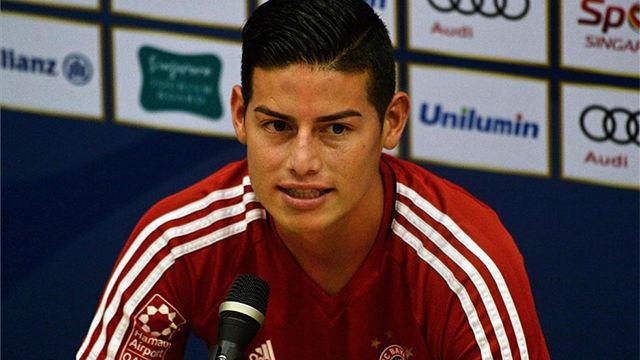 James Rodríguez dejó el Madrid por el Bayern con el objetivo de ganar títulos