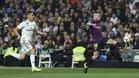 Jordi Alba fue el dueño del lateral izquierdo en el Bernabéu