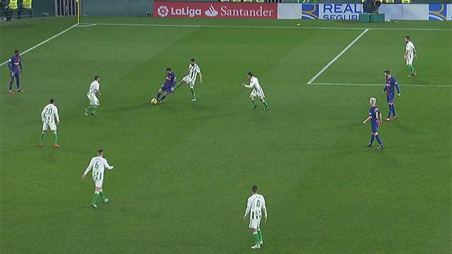 LALIGA | Betis - FC Barcelona (0-5): La jugada de Messi que dará la vuelta al mundo