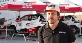 Las declaraciones de Fernando Alonso tras las primeras pruebas con el coche del Dakar