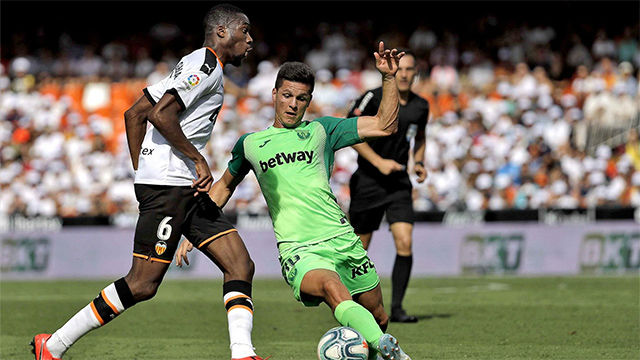 El Leganés suma su primer punto ante el Valencia
