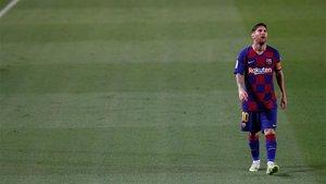 Leo Messi reiteró al FC Barcelona su deseo de dejar el club este verano