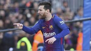 Leo Messi no tiene competencia