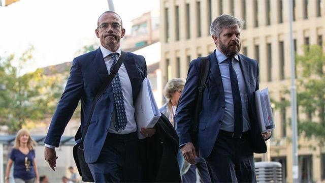 Los abogados de Neymar llegaron sin el futbolista al juicio contra el Barça