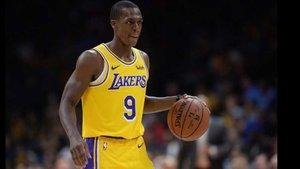 Los Lakers pierden a Rondo varias semanas