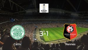 Los tres puntos se quedan en casa tras el triunfo del Celtic frente al Stade Rennes (3-1)