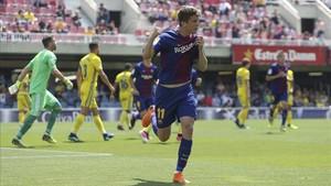 Marc Cardona fue clave en la victoria ante el Cádiz y quiere repetir celebración