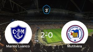 El Marino Luanco pasa a la siguiente ronda de los playoff (2-0)