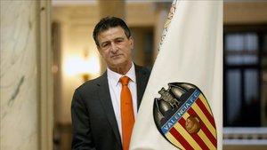 Mario kempes, historia del Valencia, ha firmado el manifiesto contra la gestión de Peter Lim.