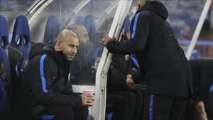 Mascherano, jugador del Barça