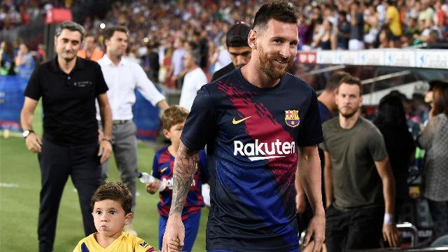 Messi: Mi hijo Mateo se enfadó cuando dije que él no era del Barça