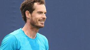 Murray, durante uno de sus últimos entrenamientos