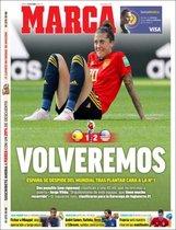 La portada de Marca del 25 de junio