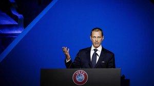 El Presidente de la UEFA está convencido de poder terminar todas las competiciones