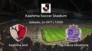 Previa del encuentro: Kashima Antlers - Sanfrecce Hiroshima