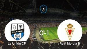 El Real Murcia B vence 0-1 a La Unión