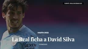 La Real Sociedad ficha a David Silva