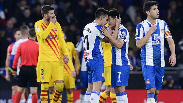 El resumen del empate entre Espanyol y Barça de la primera vuelta