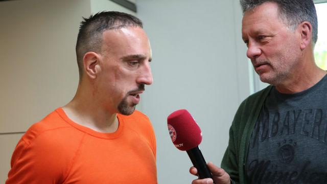 Ribéry: Cuando te encuentras bien, siempre te quieres quedar en tu equipo