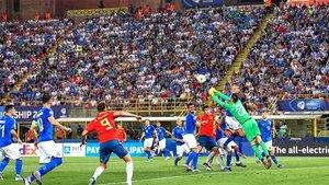 La selección española Sub 21 perdió en su debut