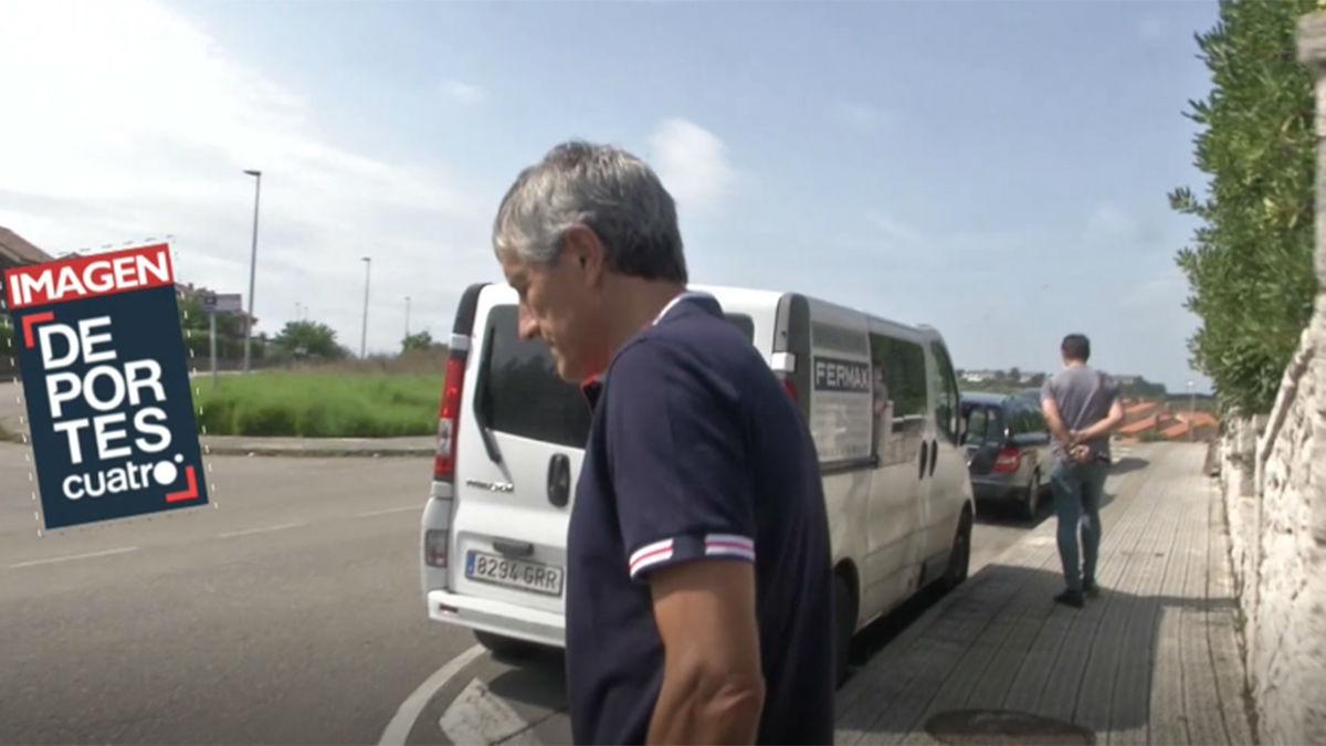 Setién anuncia que emitirá un comunicado sobre el finiquito del Barça