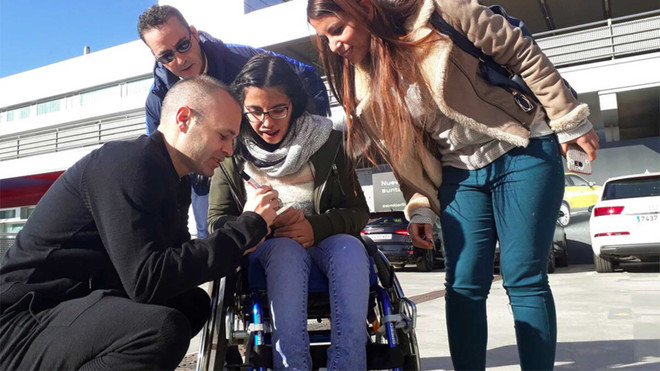 La historia de una refugiada Siria inspira la campaña de Navidad del Barça