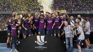 La Supercopa de España puede celebrarse en Arabia Saudita
