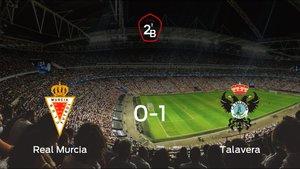 El Talavera de la Reina vence por la mínima al Real Murcia (0-1)