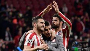 El triunfo ante el Liverpool ha revertido el ambiente en el Metropolitano