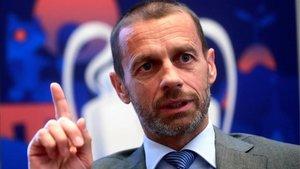 La UEFA, que preside Ceferin, ya ha confeccionado el protocolo
