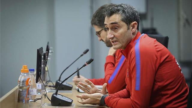 Valverde insinuó en rueda de prensa que daría descanso a Messi y Suárez