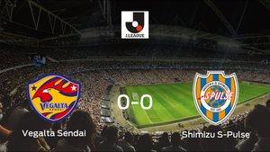 El Vegalta Sendai y el Shimizu S-Pulse se reparten los puntos tras su empate a cero