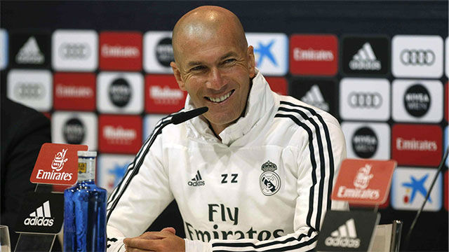 Zidane se acuerda de Cristiano