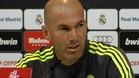 """Zidane: \""""Lo de Cristiano está arreglado\"""""""
