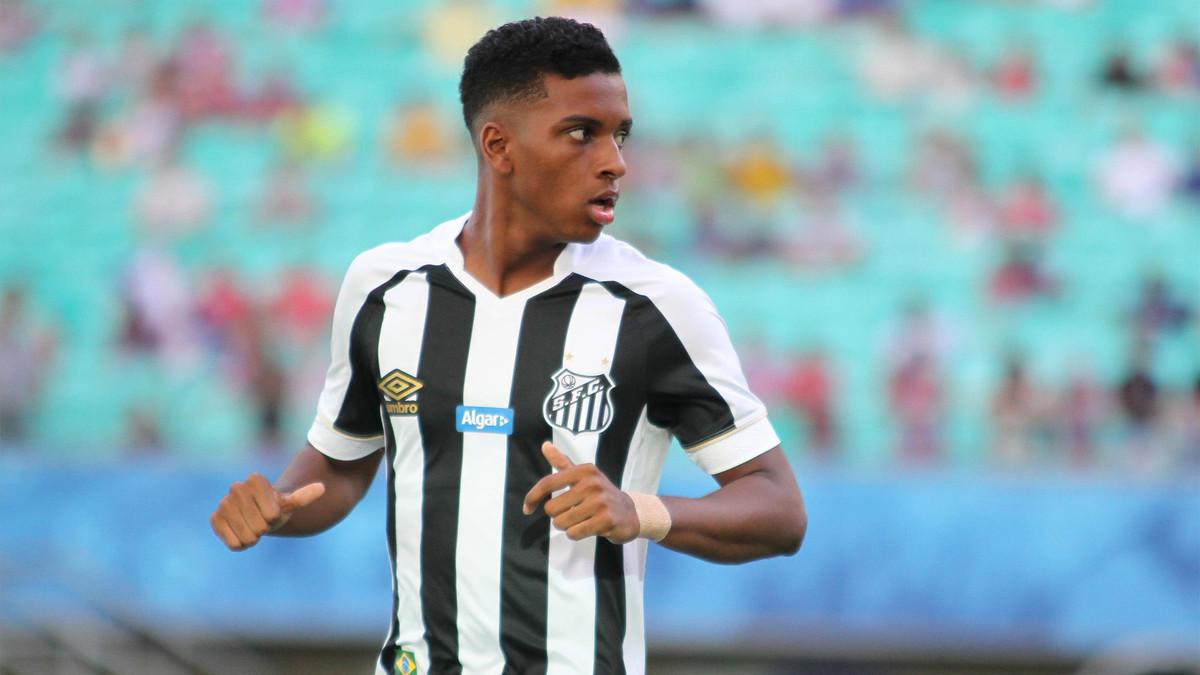 d6e963e0b56 Santos won t negotiate with Barça over Rodrygo due to Neymar debt. Santos  FC 2018 2019 Umbro Third Football Kit